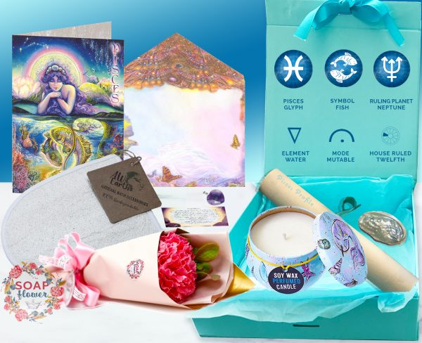 Pisces astrology gift Box