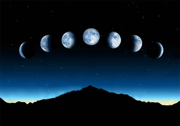new moon phases