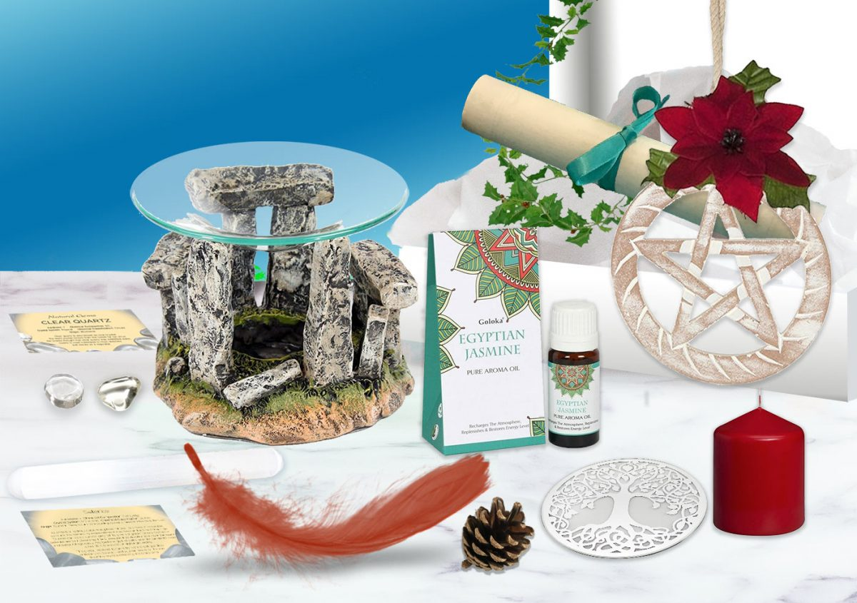 Yule winter solstice - christmas-stonehenge