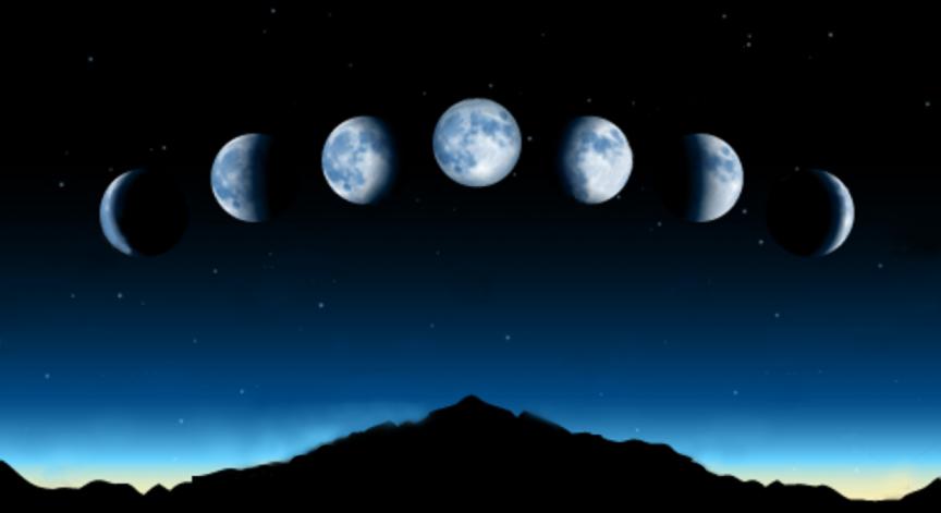 new moon phase