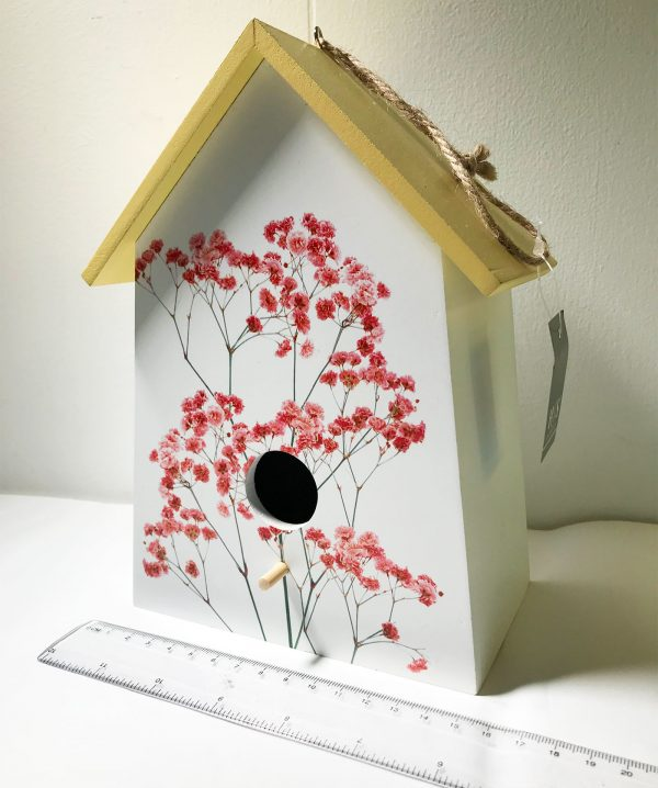 blossom birdhouse