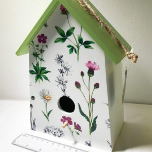 wild flower birdhouse