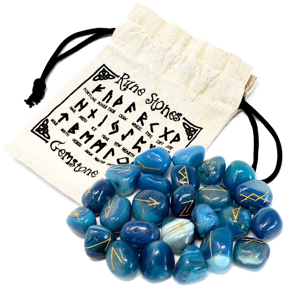 runes and pouch