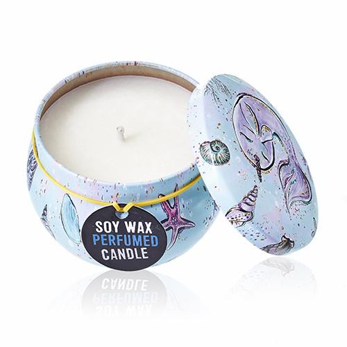 Cancer Tin Candle