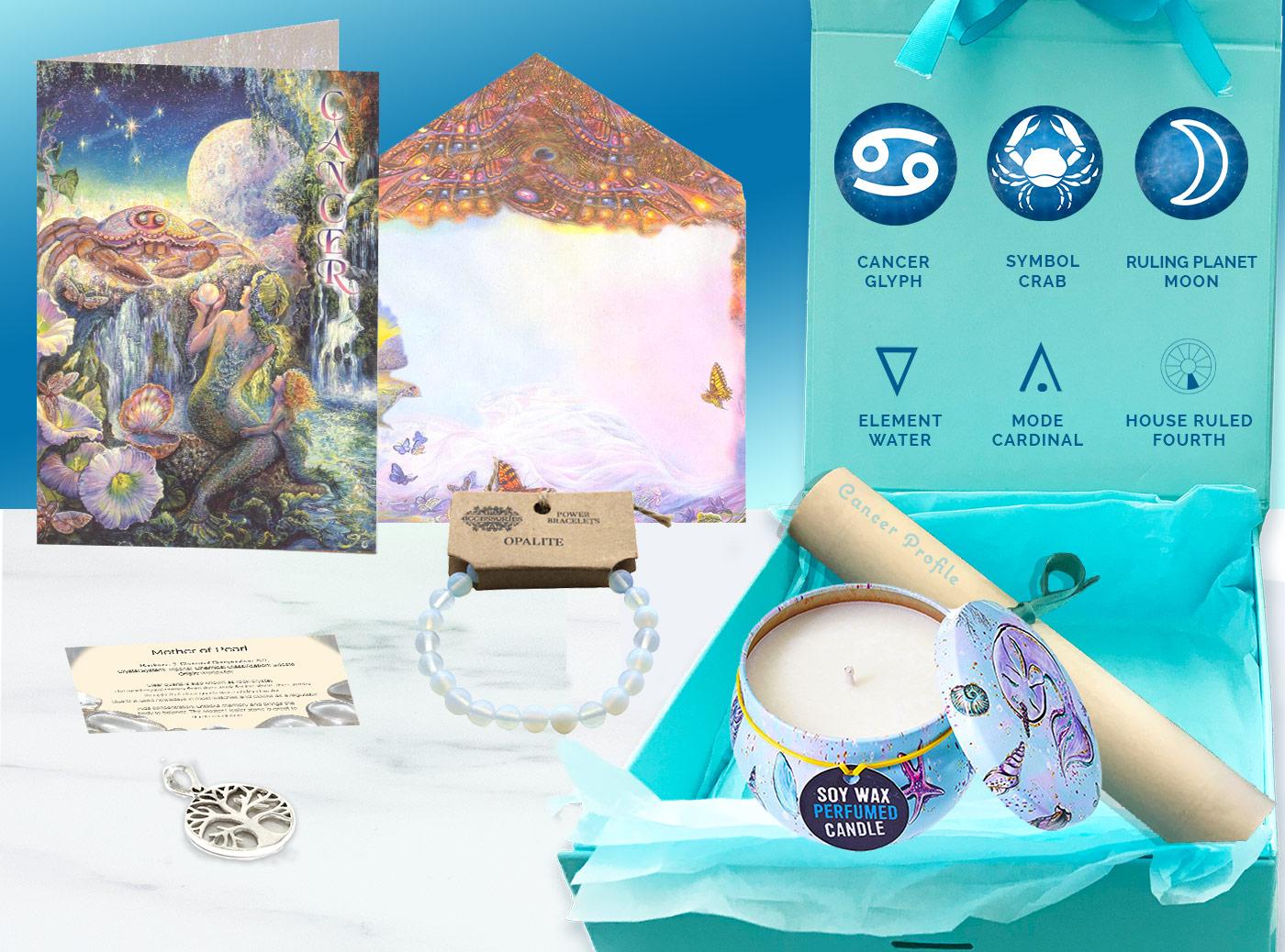 Cancer Gift Box and card