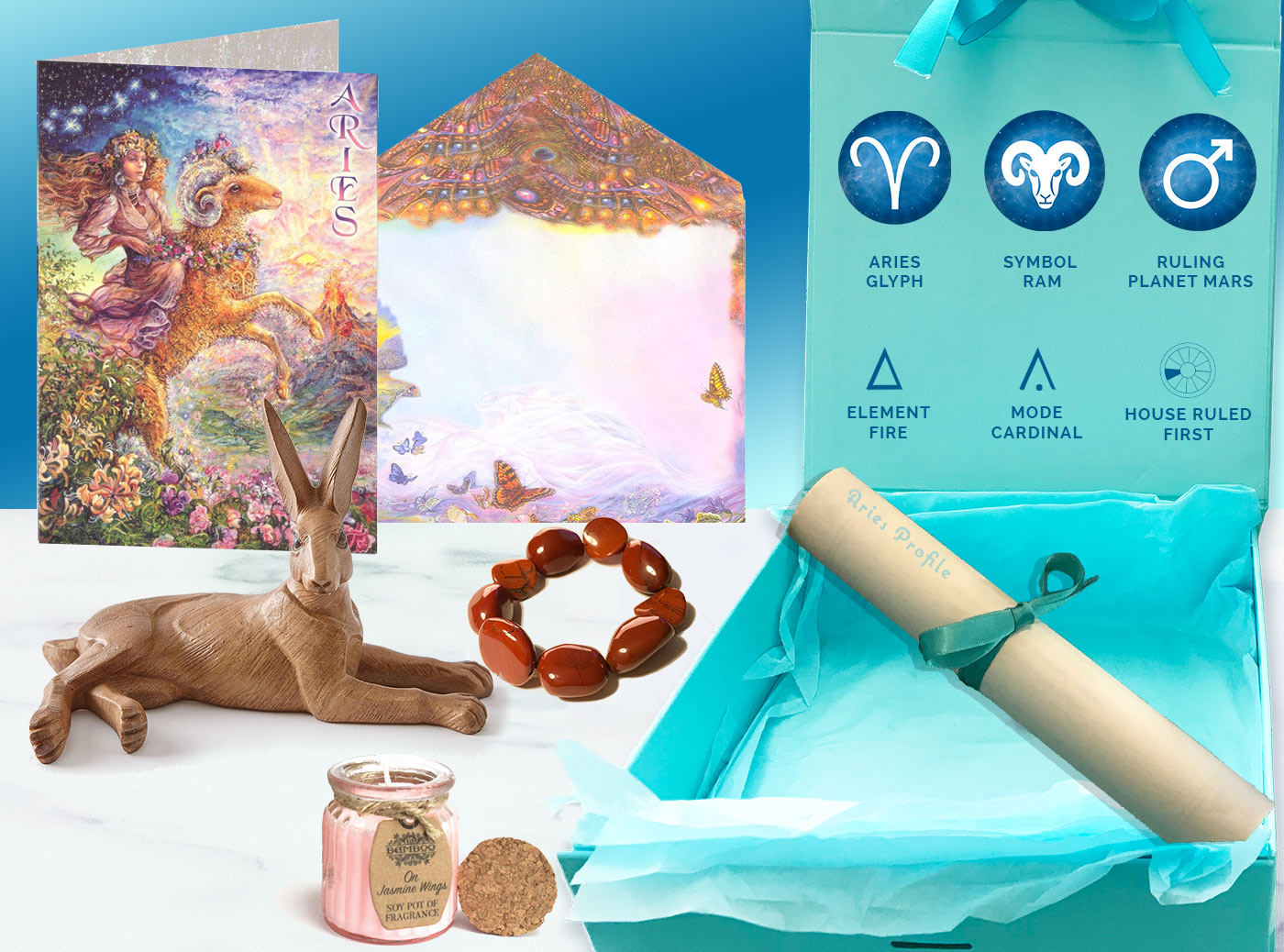 Aries Gift and card