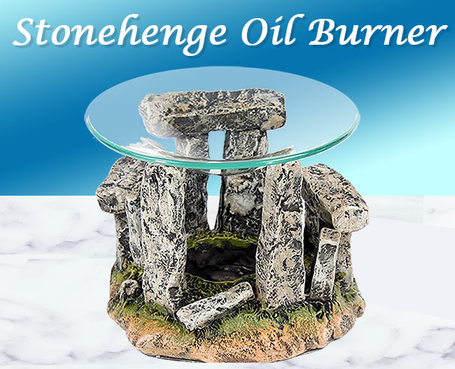 Stonehenge oil burner - circle of stones